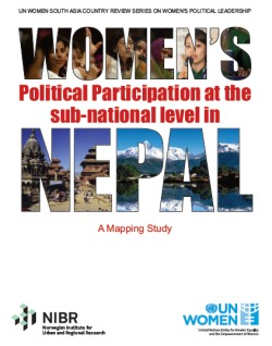 Towards Gender Responsive Governance: A Mapping Study