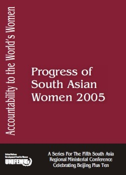 Progress of South Asian Women 2005