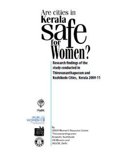 Are our cities safe for women?