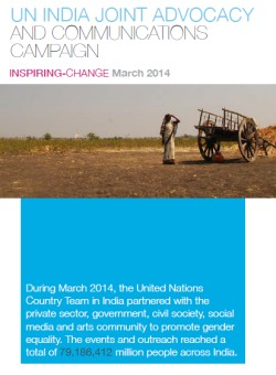 UN India Joint Advocacy and Communications Campaign