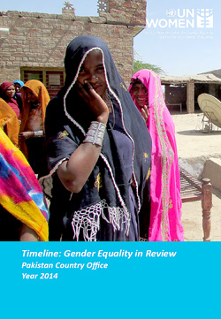 Timeline: Gender Equality in Review   Pakistan Country Office 2014