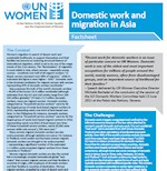 Factsheet Domestic work and migration in Asia