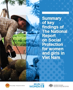 Summary of key findings of The National Report on Social Protection for women and girls in Viet Nam