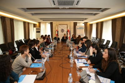UN Women supports security institutions in establishing sex-disaggregated data collection and analysis systems