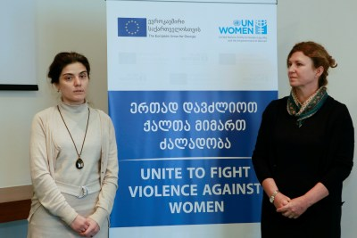 EU and UN Women launch a joint action to combat violence against women and girls