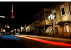 Tbilisi TV Tower illuminated in orange to mark the International Day for the  Elimination of Violence against Women