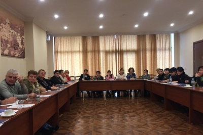 Consultation meeting with women's NGOs working in Imereti Region