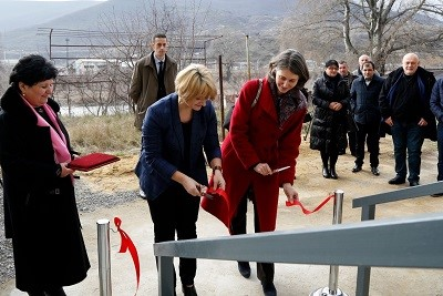 Crisis center for survivors of violence opens in Gori