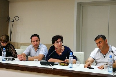 Julia Kharashvili, Director of NGO Consent advocating for the rights of conflict affected and IDP women