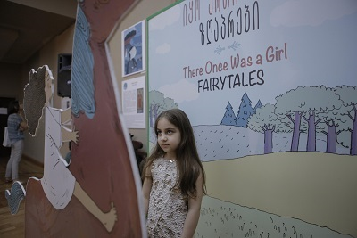 "Presentation of the fairytale book ""Once There was a Girl"""