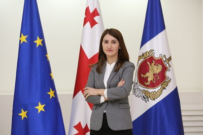 Londa Toloraia, the head of the Human Rights Protection Department at the Ministry of Internal Affairs