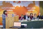 High-level meeting advocates framework for overcoming sexual harassment