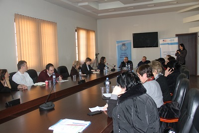 The consultation meeting with the members of the working group on the localization of the WPS NAP at the Zugdidi Municipality