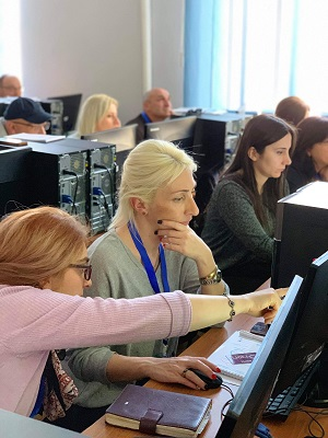 The training increased the participants' skills to use the latest tools for website development and social media marketing