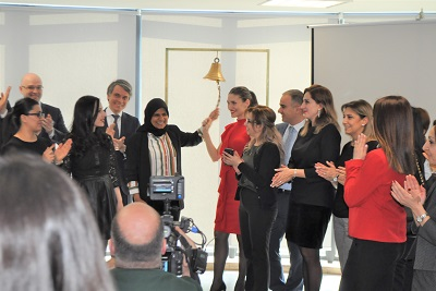 The Armenia Securities Exchange-AMX and Central Depository of Armenia rang the opening bell for Gender Equality