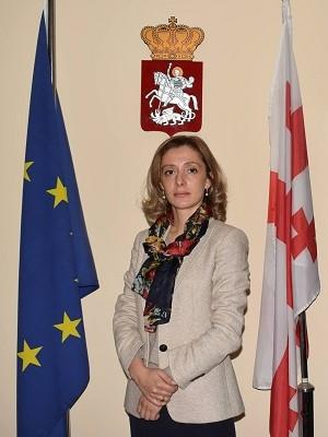 Mary Maglaperidze, director of the State Fund for Protection and Assistance of (Statutory) Victims of Human Trafficking