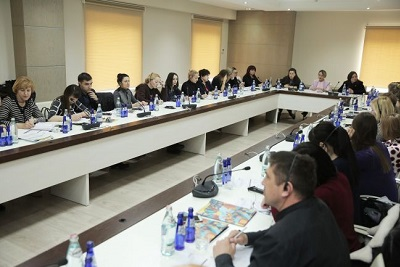 Ukrainian Delegation becomes familiar with Georgian experience on Women, Peace and Security issues