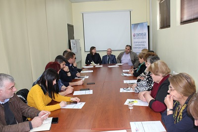 Constructive dialogue continues between the conflict-affected population and government representatives
