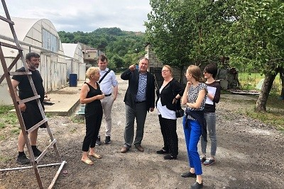 Norwegian MFA and UN Women visit inspiring businesswomen in Georgia