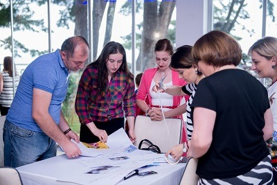 On 29-30 June, 11 companies convened in Tsikhisdziri to discuss mentoring for women's empowerment