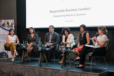 Positive Georgian experience incentivizes new companies to sign Women's Empowerment Principles
