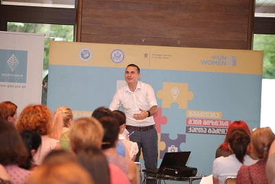 Women's economic empowerment forum in Zugdidi facilitates contacts in tourism and hospitality sectors