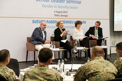 Georgia integrates gender perspective into the security sector