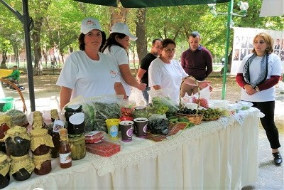 UN Women supports promotion of products made by rural women in Armenia