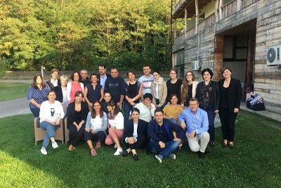 The group photo of the training participants