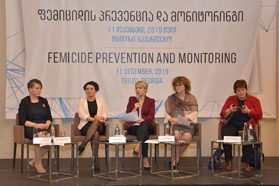 the Public Defender of Georgia with UN Women's support presented the findings of its five-year monitoring of gender-based killings of women - femicides - in Georgia