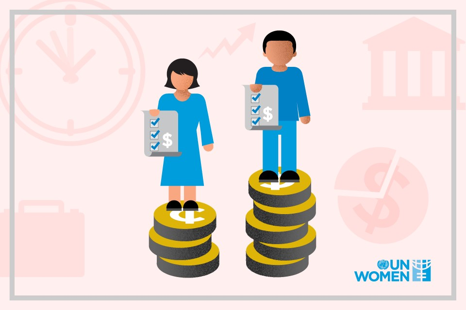 The adjusted gender pay gap in Armenia is estimated at 28.4 per cent. Photo: UN Women