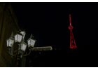 Tradition continues: Tbilisi TV tower lit in orange