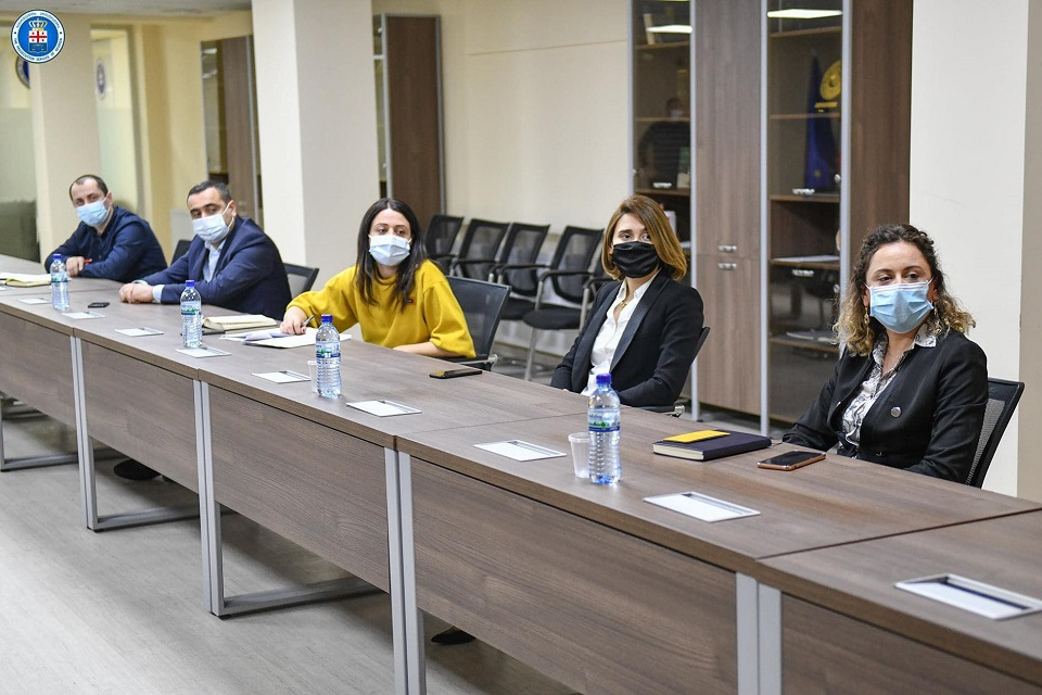 The findings of the participatory gender audit were discussed with the Prosecutor's Office of Georgia. Photo: The Prosecutor's Office of Georgia