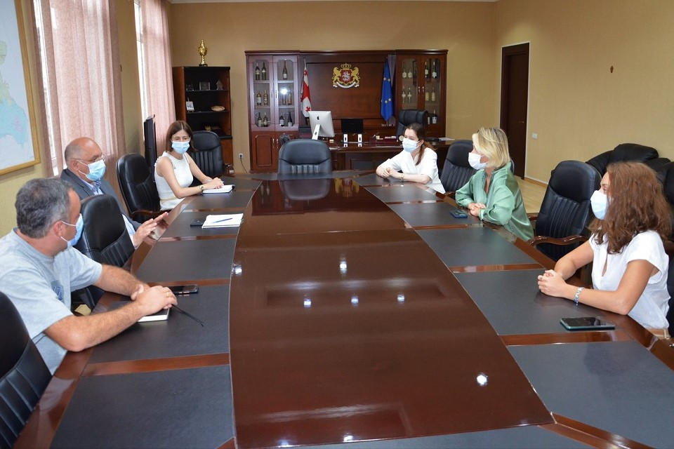 Meeting in Telavi, Kakheti region with the representatives of local government. Photo: The State Representative in Kakheti Region