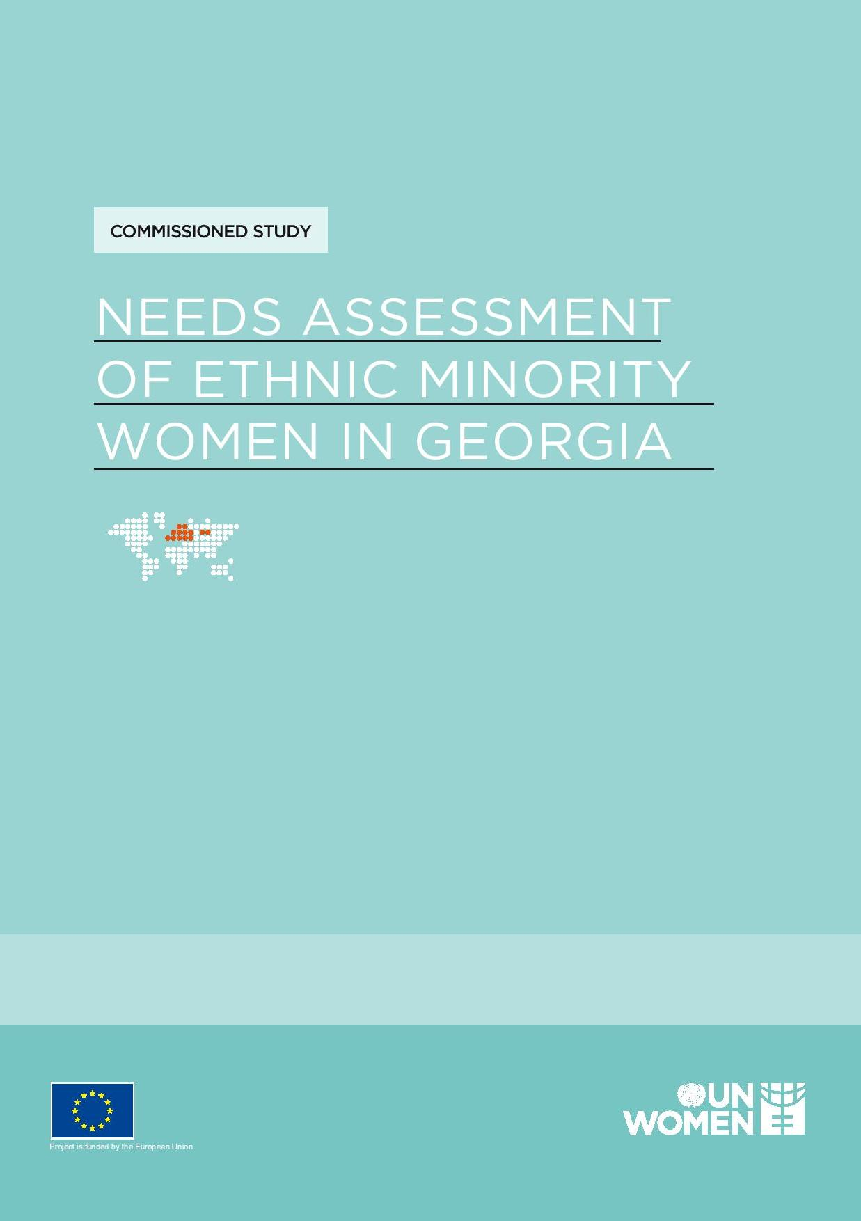 Needs Assessment of Ethnic Minority Women in Georgia
