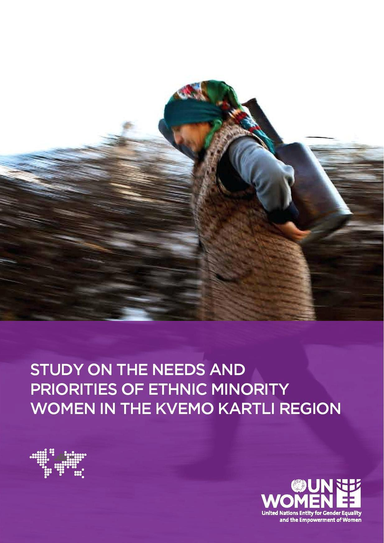 Study on the Needs and Priorities of Ethnic Minority Women in the Kvemo Kartli Region