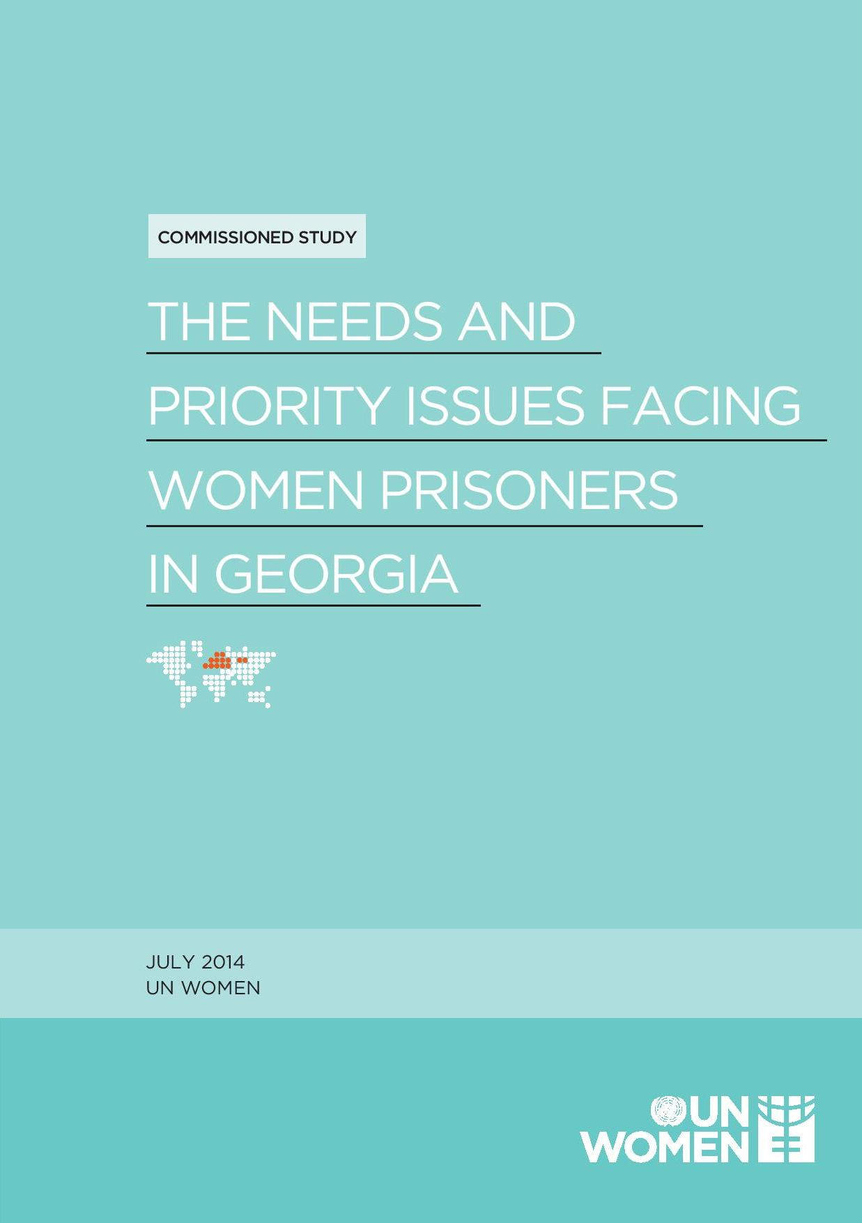 Needs and Priority issues of women prisoners in Georgia