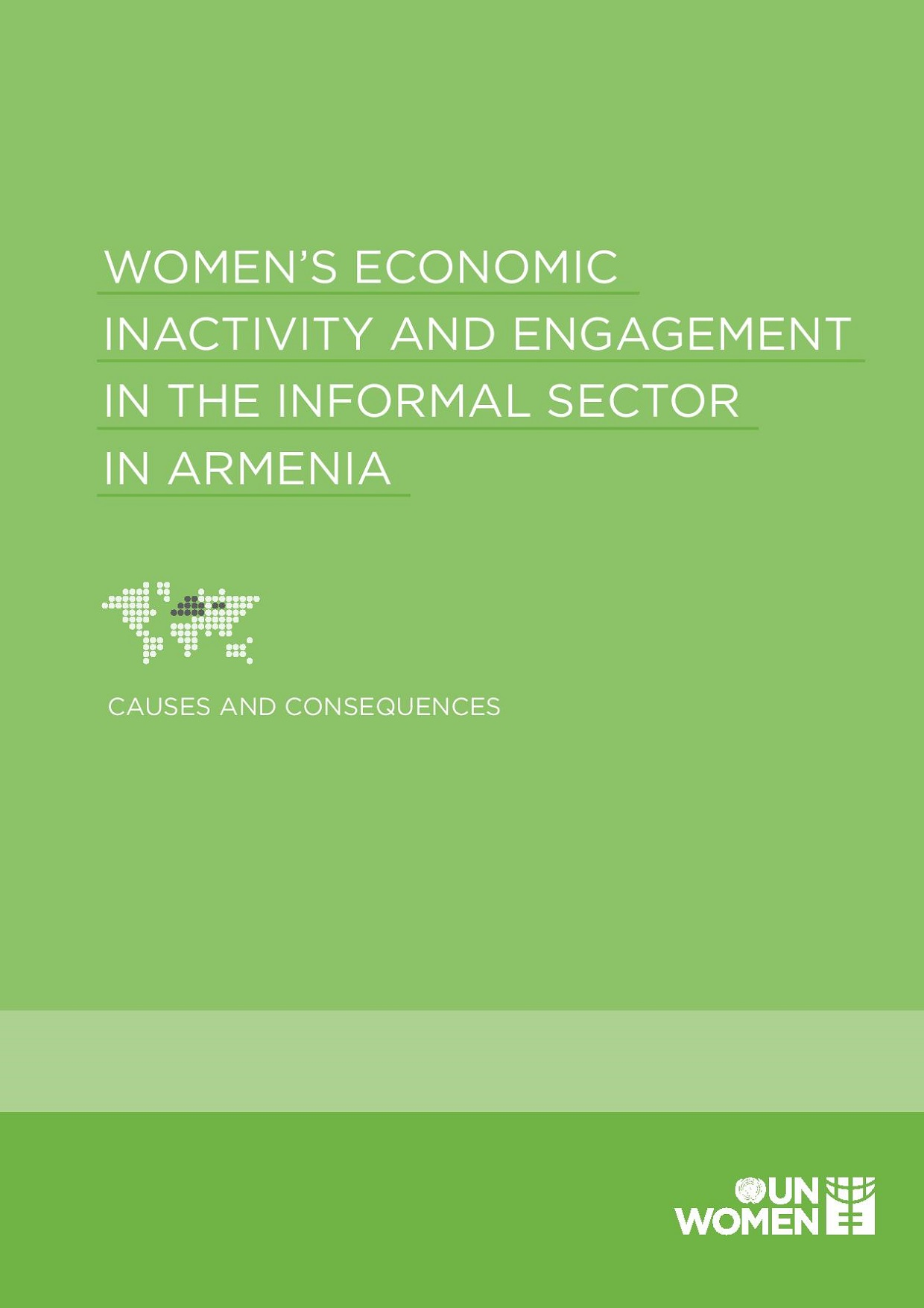 Women's Economic Inactivity and Engagement in the Informal Sector in Armenia