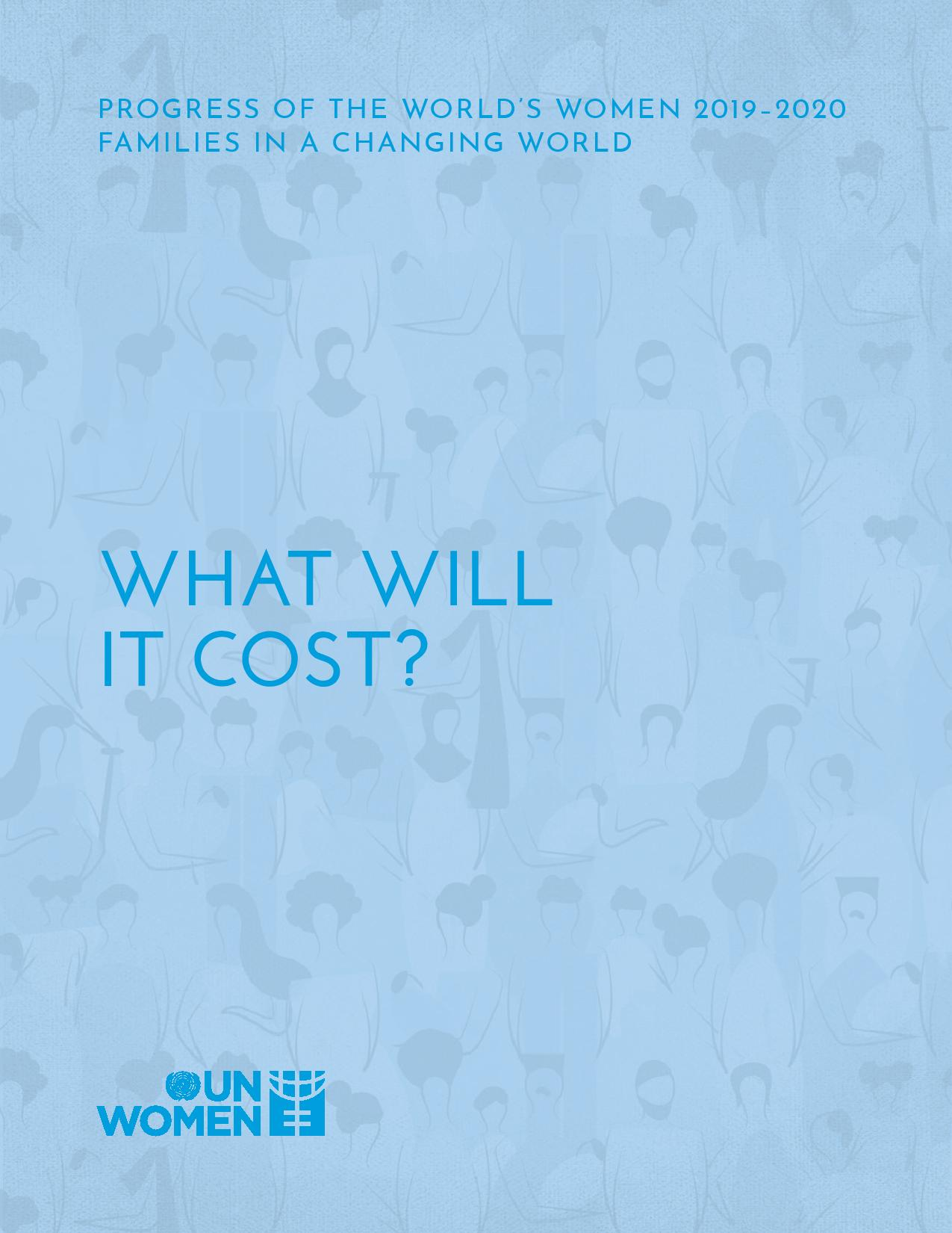 Families in the Changing World  What Will it Cost
