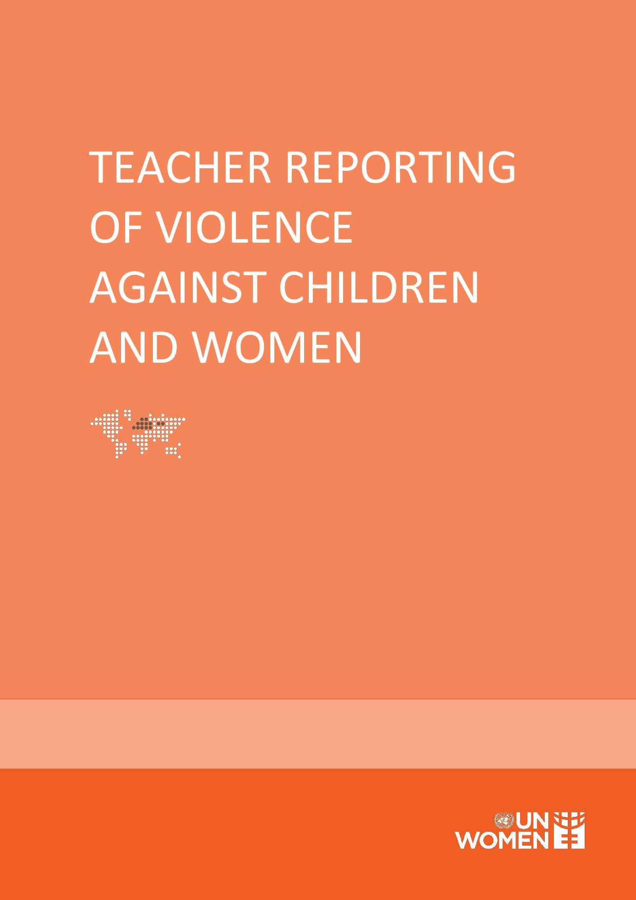 The Study on Behavioral Causes Acting as Barriers among Teachers to Intervention/Reporting on Violence against Women and Domestic Violence in Georgia