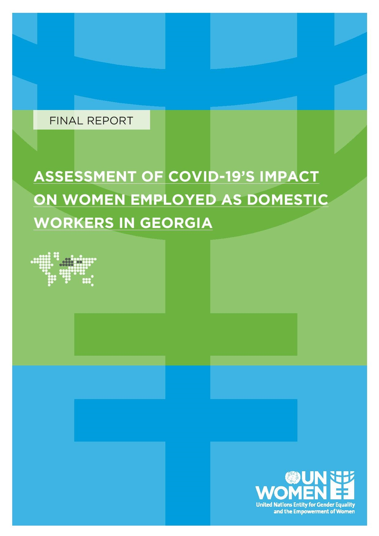 Assessment of COVID-19's Impact on Women Employed as Domestic Workers in Georgia