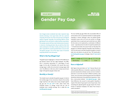 Gender Pay Gap - Issue Brief
