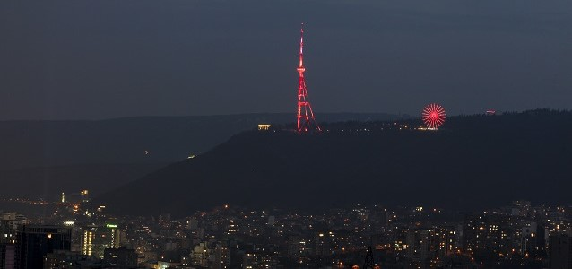 Tbilisi joined the global orange the world campaign