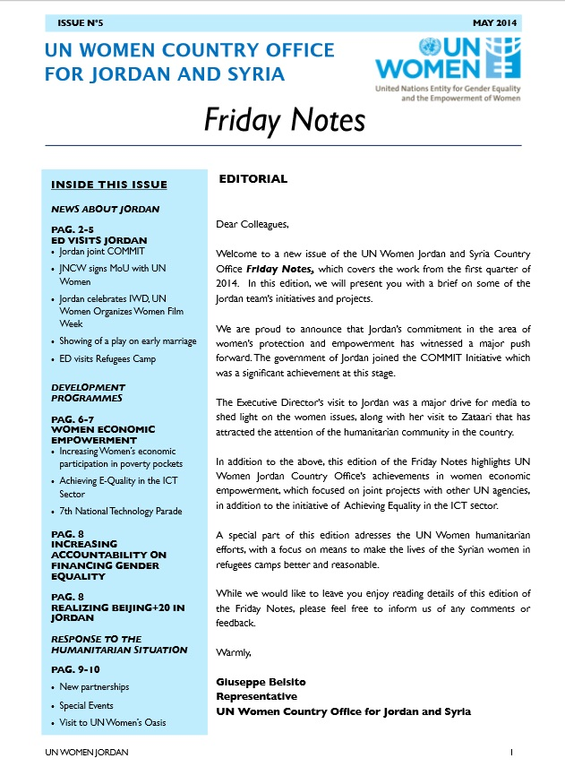 Friday Notes, issue n.5