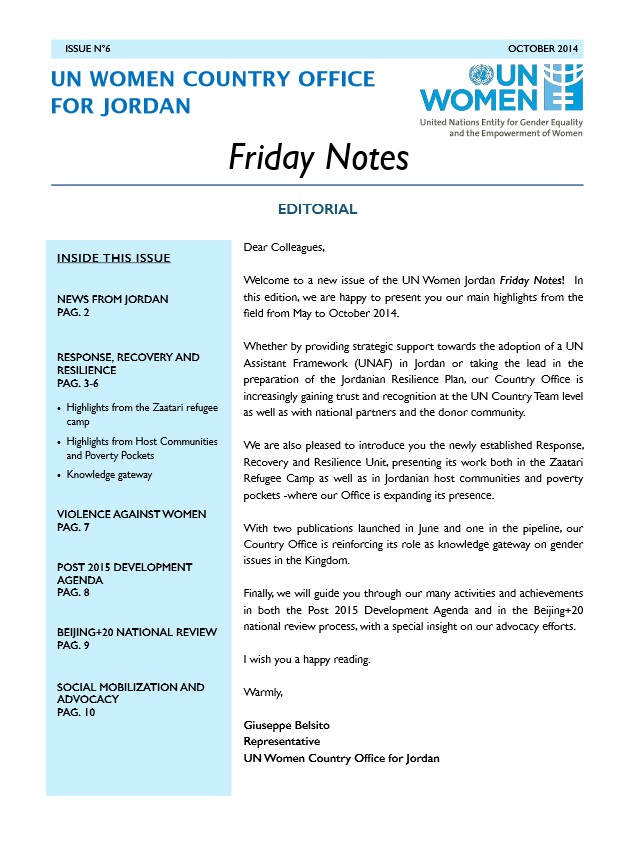 Friday Notes, issue n.6
