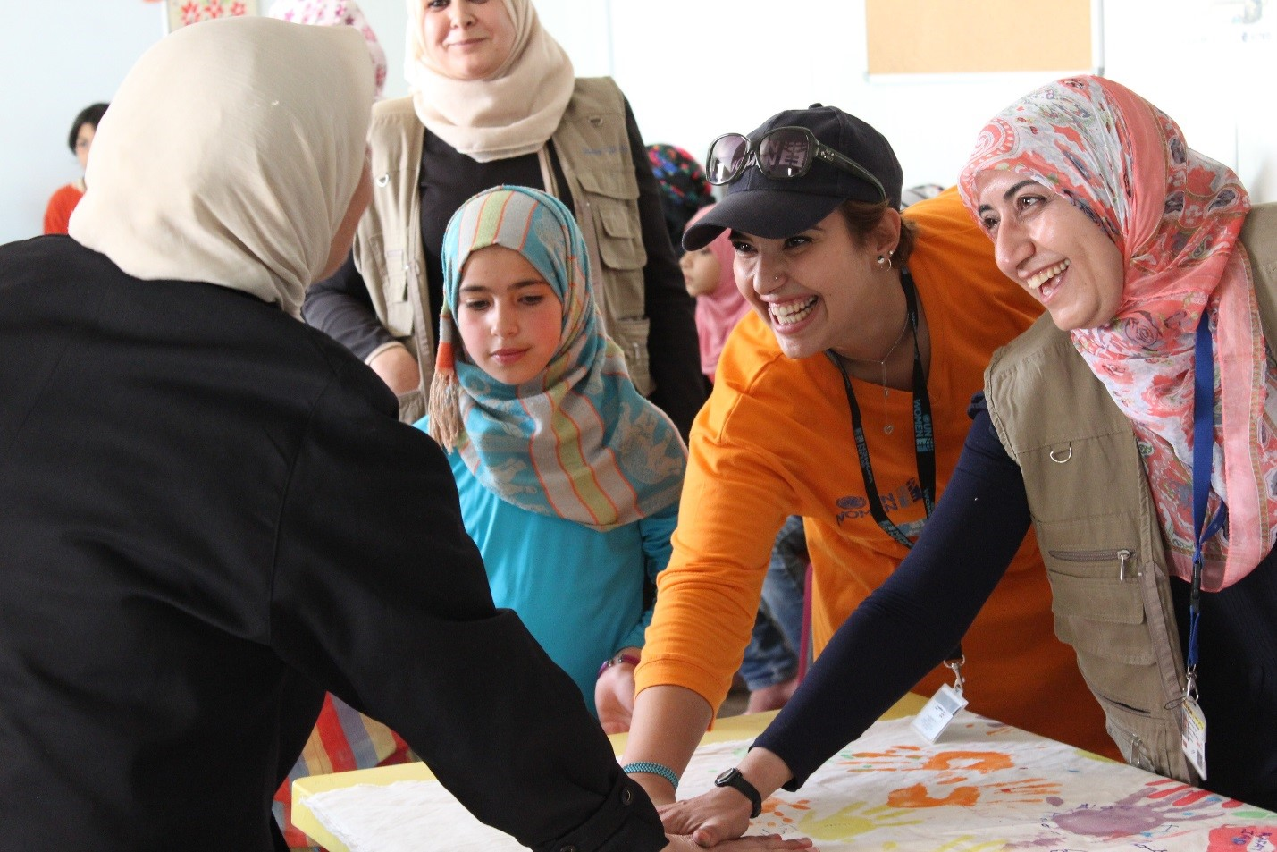 UN Women joins interagency activities to commemorate World Refugee Day