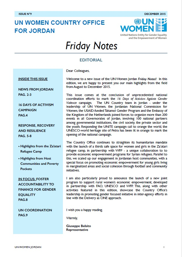 Friday notes, issue n.9