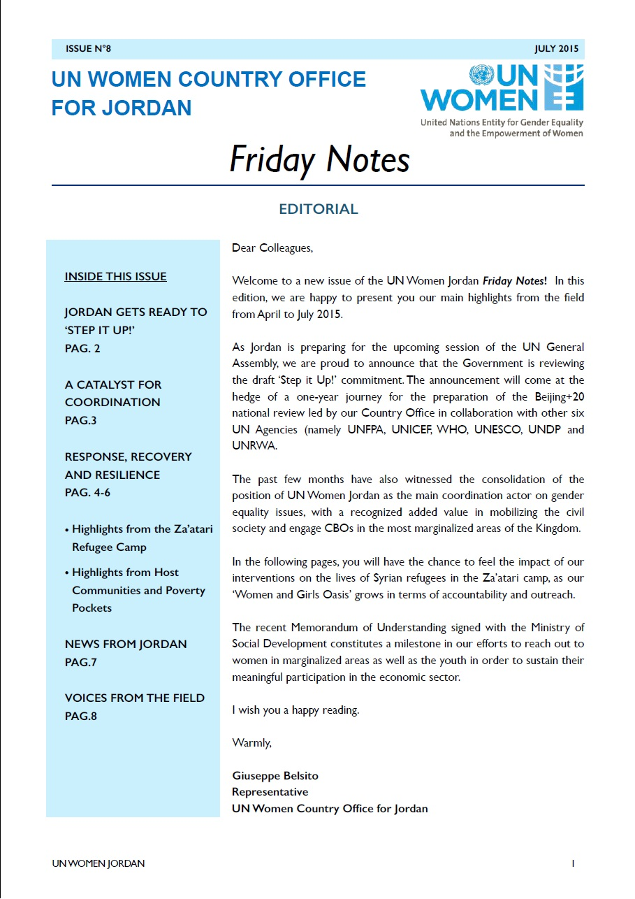 Friday notes, issue n.8
