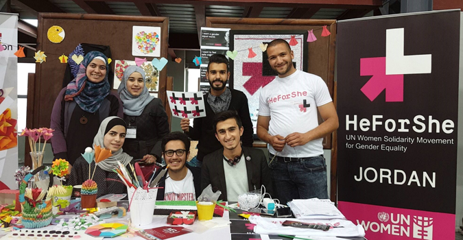 More than 6,000 HeforShe Commitments submitted from Jordan