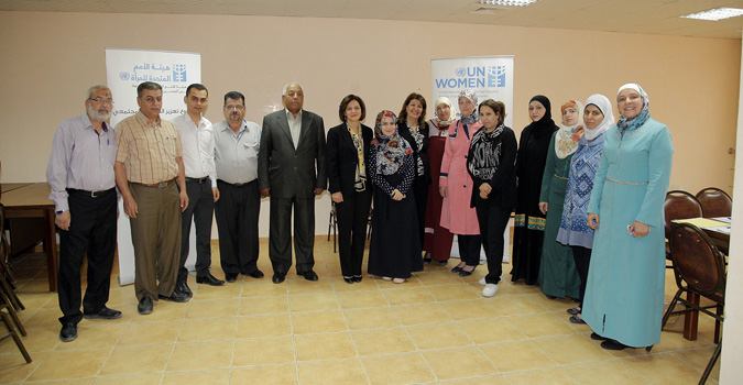 """UN Women's social cohesion and women empowerment program organizes training workshop on """"planning and cooperation with local community"""""""